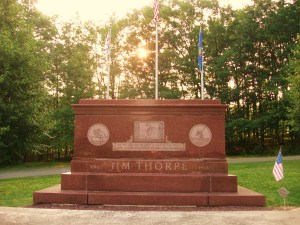 Jim Thorpe monument