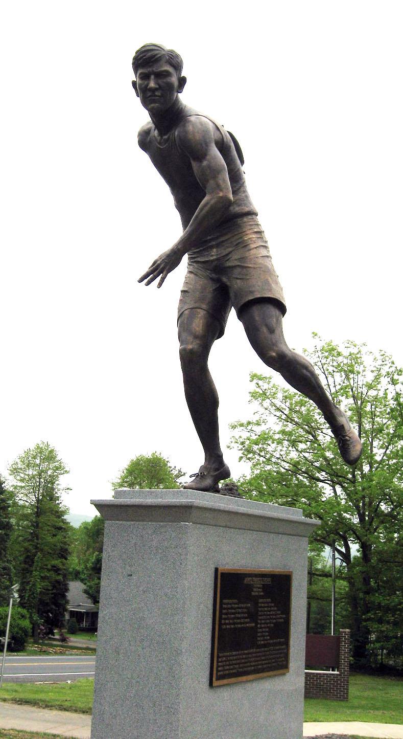 Jim Thorpe statue dedicated May 21, 2011