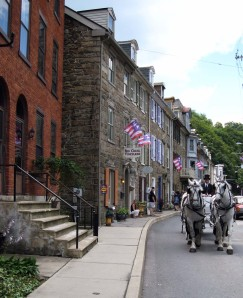 Horse-drawn carriage rides down Jim Thorpe's historic Race Street are a highlight of many a romantic weekend getaway.