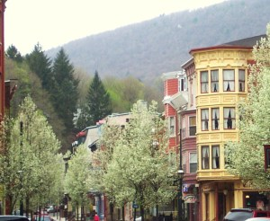 Spring in Jim Thorpe