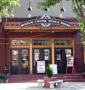 The Mauch Chunk Opera House is Jim Thorpe's gem of a venue for live entertainment.