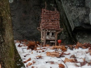 Hikers found this fairy cottage on Flagstaff this week.