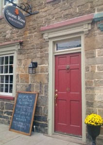 Stone Row Pub is open for lunch, dinner and drinks today.