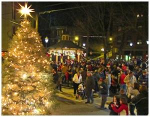 33rd Annual Jim Thorpe Olde Time Christmas tree lighting tonight at the Josiah White Park.