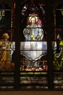 Tiffany window of St. Marks