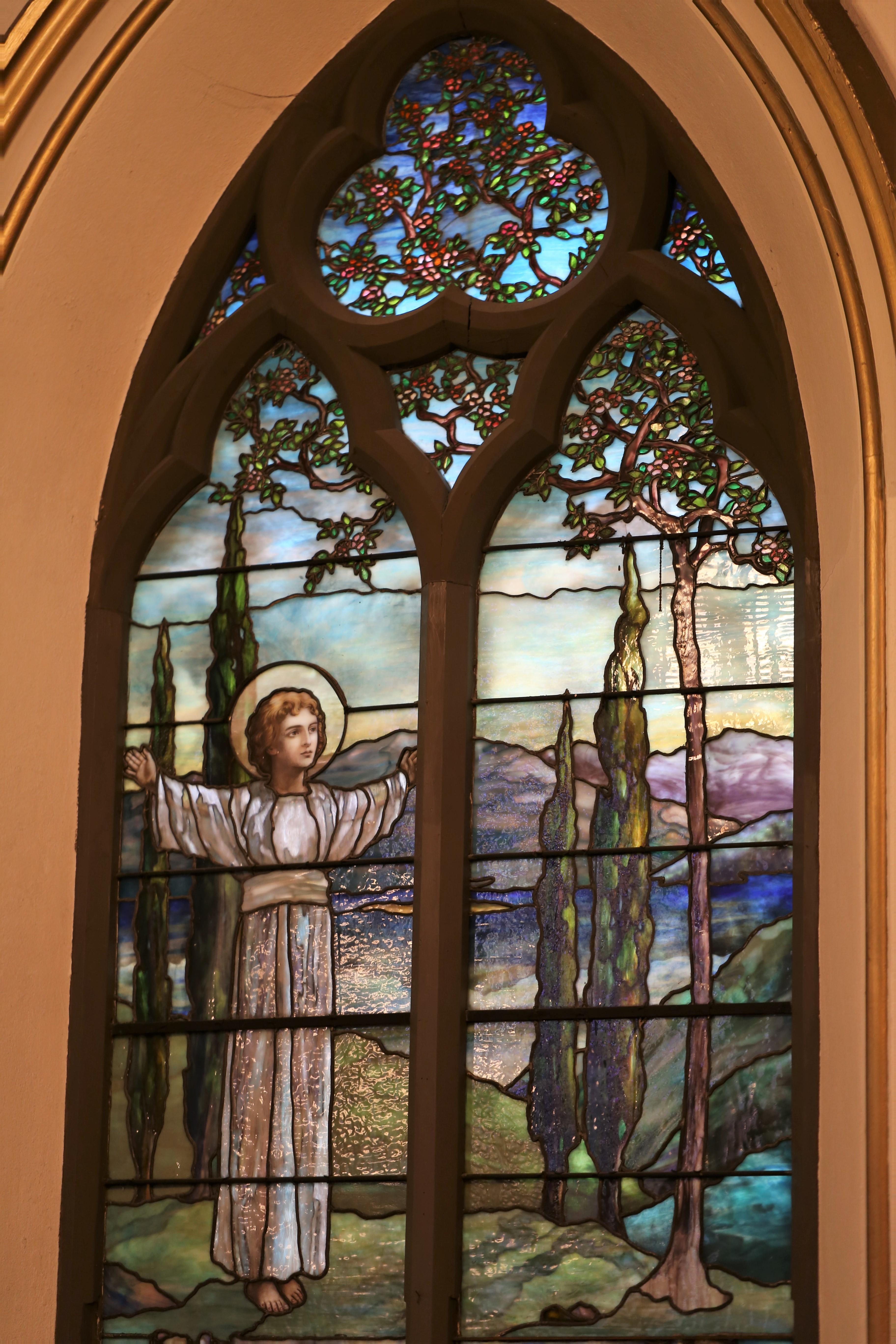 St. Marks Episcopal Church Tiffany window
